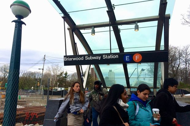 The MTA has officially changed the name of the Briarwood-Van Wyck Boulevard station to just Briarwood.