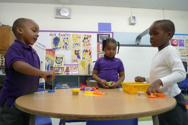 The pre-K program at P.S. 242 in Morningside Heights.