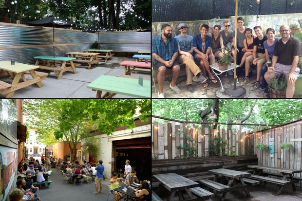 DNAinfo New York rounded up the five best places to do summertime day drinking in the neighborhood.