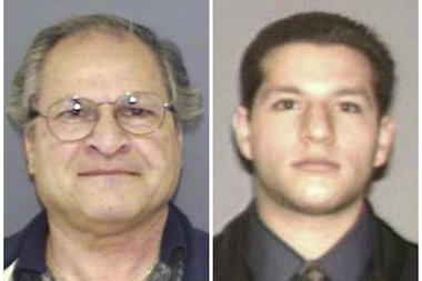 Gaspare Santoro, 75, and his son Paul Santoro, 36, were hit with a 36-count indictment after prosectors said they lied about asbestos at Mount Manresa and seven other properties in Staten Island.