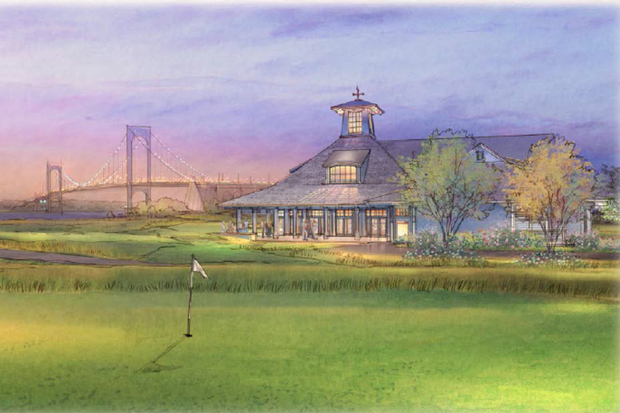 Donald Trump is planning on building a $10 million clubhouse at his pricey golf course at the city-owned Ferry Point Park in the Bronx. Renderings obtained by DNAinfo show the size of the clubhouse has grown from 18,455 square feet from 10,000 square feet.