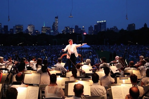 This week, catch the New York Philharmonic in your local park and spend a night at the museums.