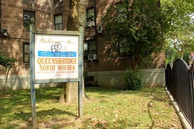 The Queensbridge Houses in Long Island City will be the first to receive free high-speed Internet under a city plan.