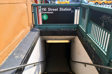 A 24-year-old man was robbed on his way to the subway by a man claiming to be a YouTube prankster, police said.