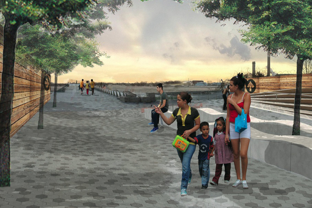 The NYRP plans to build two new waterfront parks in the South Bronx.