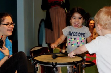 The Children's Museum of Manhattan offers kids 5 and younger a chance to explore their inner musician by playing with tambourines and maracas with a museum instructor. Jam band sessions are offered daily at 10:30 a.m. and 3:30 p.m. and last until the end of August. Event is free with admission.