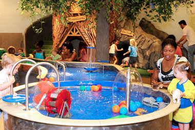 Kids in Manhattan can take refuge from the heat at City Treehouse.