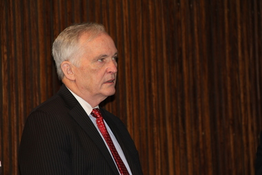 Department of Correction Commissioner Joseph Ponte appeared at a Board of Corrections meeting on July 14, 2015.