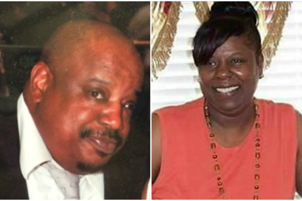 Darryl Gibbs, left, beat Wanda Martin to death with a hammer, police said.