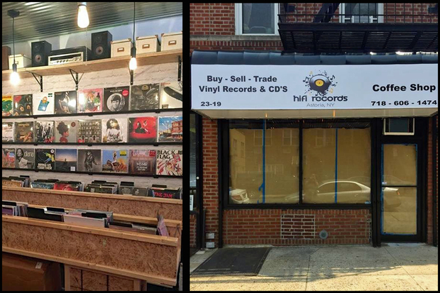 The store will open Saturday at 23-19 Steinway St., selling new and used records