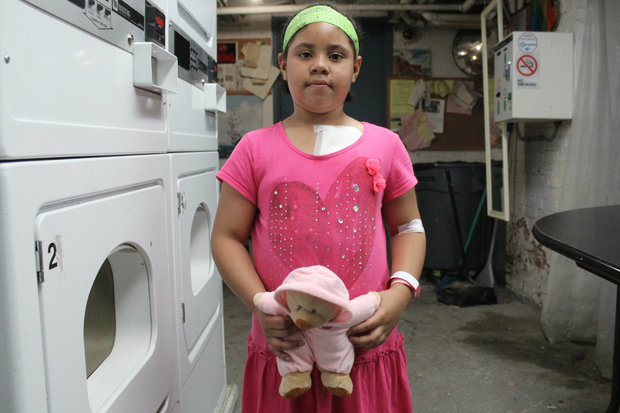 A 6-year-old girl who was attacked by a pit-bull wants to grow up to be a vet.