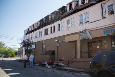 Fire damaged midland motel for sale for 3 5m midland for Midland motor inn staten island