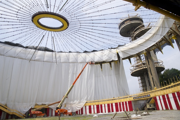 The ideas competition seeks input from people all over the world on uses for the New York State Pavilion