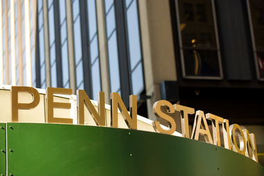 The incident happened near Penn Station, police said.