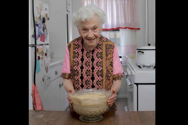 Ruth Taube, a lifelong Lower East Sider, will be on the Cooking Channel next week.