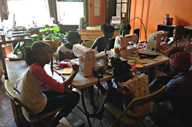 Brooklyn S Eco Friendly Sewing Camp Introduces Kids To Fashion And Design Bed Stuy New York Dnainfo