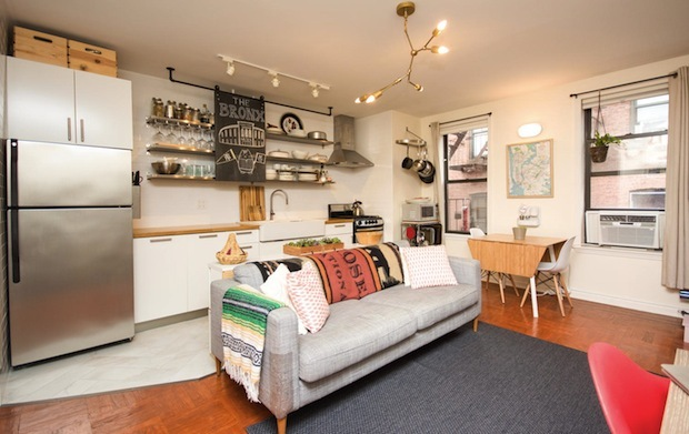 Three co-op apartments are all located within historic districts.
