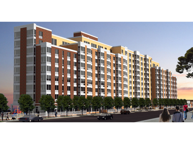 The Commission voted unanimously to approve the plan for 209 affordable units on Barnett Avenue.