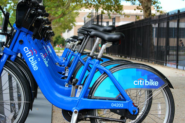 New Citi Bike stations were installed in the eastern section of Bedford-Stuyvesant this week.