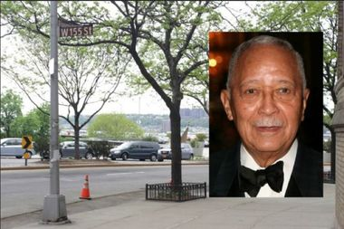 Councilman Mark Levine declined not to submit the proposal to rename a section of Riverside Drive after former Mayor David Dinkins.