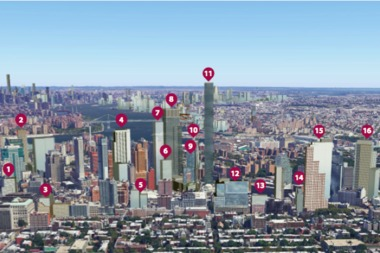 Downtown Brooklyn's skyline will change dramatically in the next five years, a new CityRealty report said.