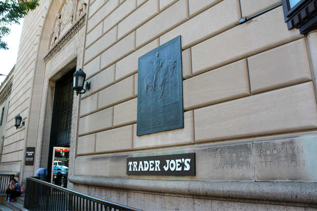 The Trader Joe's building in Cobble Hill is the location of a historic point in the Battle of Brooklyn.