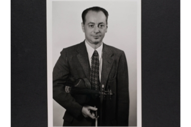 Eugene Bergen, a violinist with the New York Philharmonic, died without a will and no apparent heirs. If no relatives are found, his $3.8 million estate will be held in an unclaimed fund first by the city and then by the state comptroller's office.