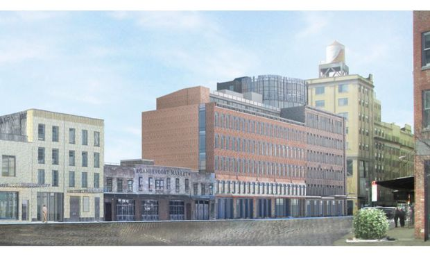 BKSK is designing four new buildings for the south side of Gansevoort Street betwee Ninth Avenue and Washington Street.