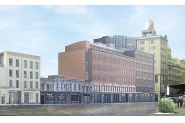 BKSK is designing five new buildings for the south side of Gansevoort Street betwee Ninth Avenue and Washington Street.
