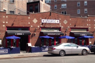 The space at Garage is up for lease, a broker said. The new tenant could move in as early as January 2016.