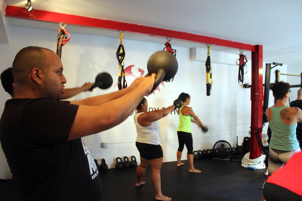 A new low-cost gym in East Harlem also offers education workshops on anything from police brutality to environmental justice, to eating healthy on a budget.