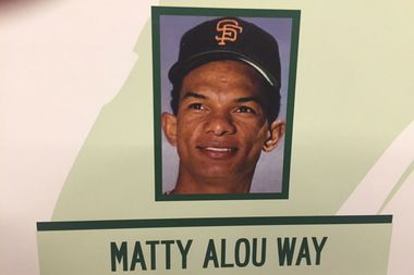 Matty Alou was one of the first Dominican players in Major League Baseball.