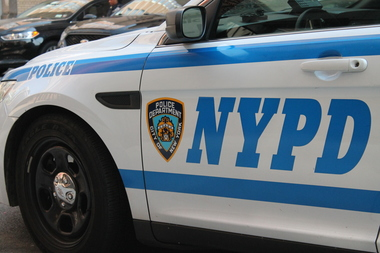 A police officer in East Harlem got run over while issuing a parking summons on East 116th Street.