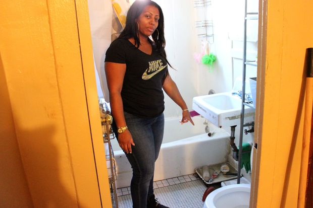 tenants of nycha building flooded by raw sewage say
