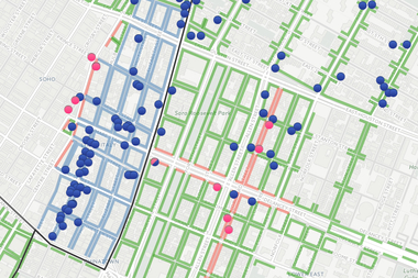 Heres A Map Of All The Sidewalk Cafes In NYC Midtown New York - Midtown new york map