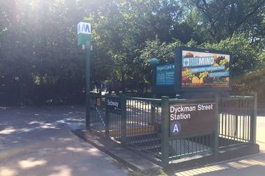 Five Uptown A train stations, including the Dyckman Street station, now offer free Wi-Fi.