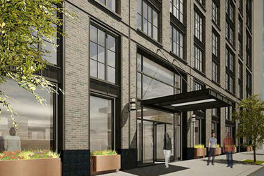 A building at 535 West 43rd St. that CB4 says will be affected by the new policy.
