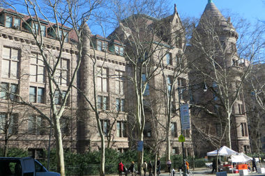 The museum plans to expand along its west side to Columbus Avenue at West 79th Street, but a group of local residents is opposing the project.