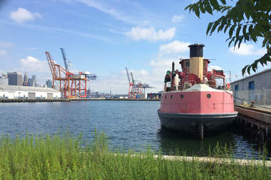 Atlantic Basin is one of the proposed sites for Red Hook's dock in the citywide ferry system.
