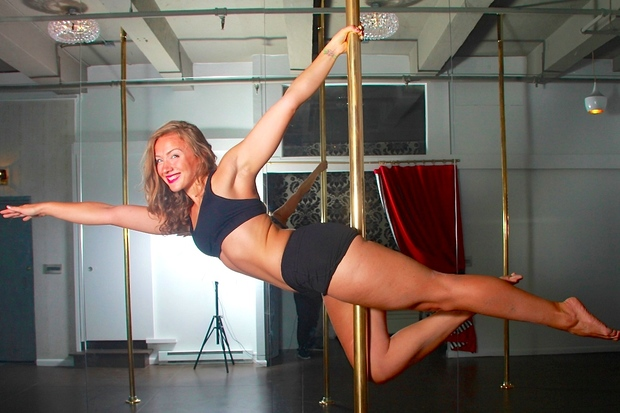 City Pole, a new TriBeCa fitness studio, offers