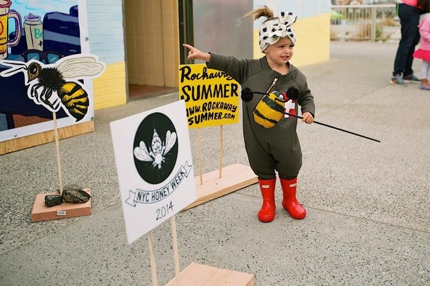 Returning to the Rockaway Boardwalk on Saturday, NYC Honey Fest is a free, daylong festival featuring art, food, music, film, kids' arts and crafts, and a bee-product marketplace.