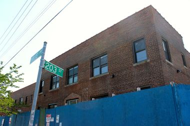 Six apartment buildings on Hollis Avenue have recently been renovated and turned into housing for homeless veterans.