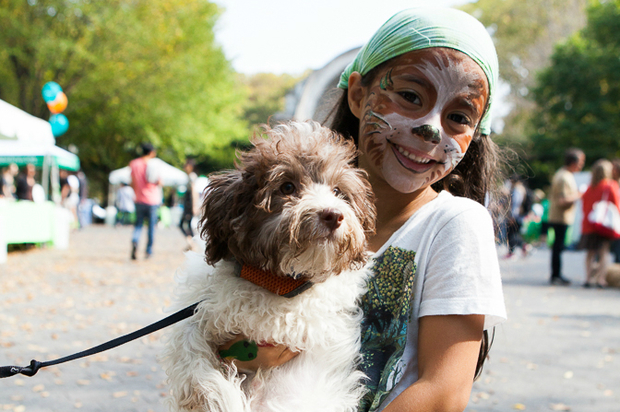 Bring your wagging tails to the Central Park Conservancy's My Dog Loves Central Park Fair on Saturday, where dogs can compete for treats, play and train up.