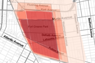 We asked you to draw Fort Greene on a map. Here are the results.