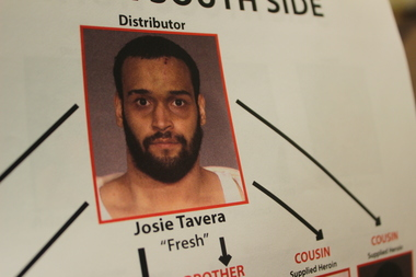 Josie Tavera is charged with leading a heroin ring out of his South Williamsburg apartment.