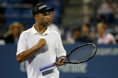 James Blake at the 2013 US Open in the Flushing, Queens.