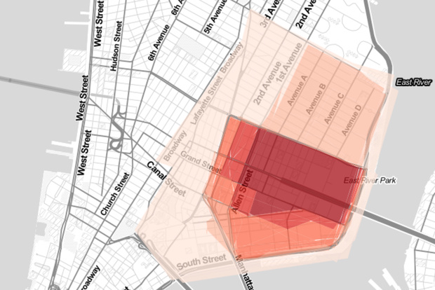 MAP: Here Are the Lower East Side\'s Borders, According to ...