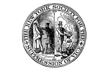 The New York Society for the Suppression of Vice was founded in 1873.