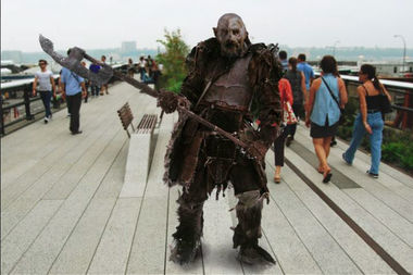 It's a hard orc life, but living in New York City makes it a little better.