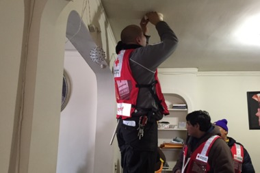 Red Cross is offering to install smoke alarms in Bushwick.